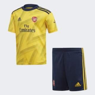 Arsenal Away Mini Kit Eqt Yellow EH5655