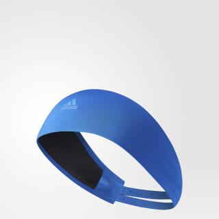 Повязка на голову Climalite Running blue / tech blue met. / tech blue met. S99781