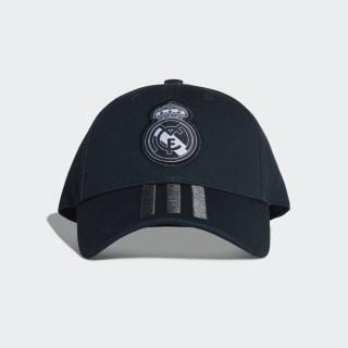 Real Madrid 3-Streifen Kappe Tech Onix / Bold Onix / White CY5601