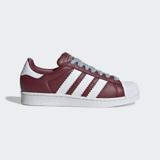 Superstar Shoes Collegiate Burgundy / Cloud White / Ash Grey BD7416