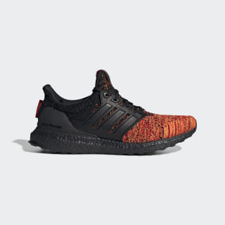 adidas Running x Game of Thrones Ultraboost Targaryen Shoes Core Black / Core Black / Scarlet EE3709