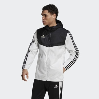 Tiro Windbreaker White / Black DY0097
