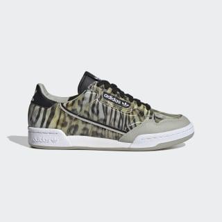Continental 80 Shoes Core Black / Metal Grey / Signal Green EG7526