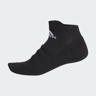 Alphaskin Hafif Yastıklamalı Bilek Boy Çorap Black / White CG2655