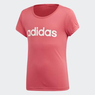 Polera Cardio Real Pink / White EH6137