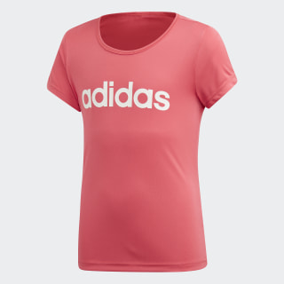 Remera Cardio Real Pink / White EH6137
