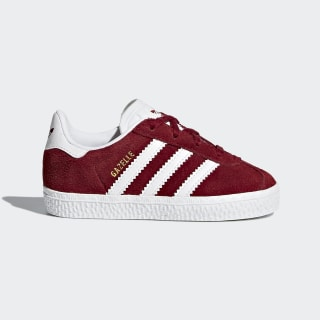 Gazelle Shoes Night Red / Cloud White / Cloud White CQ2925