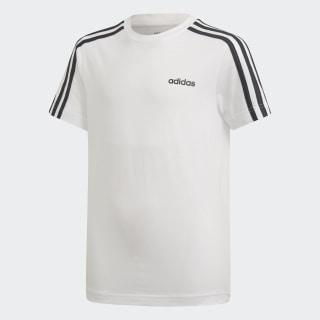 Remera Essentials 3 Tiras White / Black DV1800