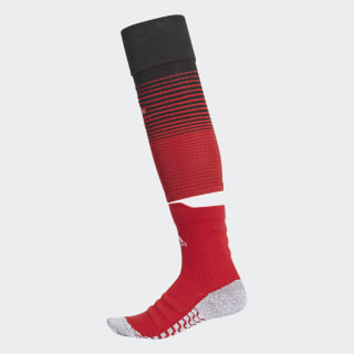 Manchester United Heimsocken Authentic Power Red / Black / Power Red CW8711