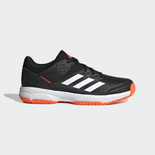 Court Stabil Shoes Core Black / Cloud White / Solar Orange F99912