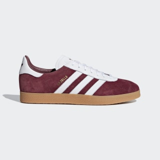 adidas gazelle burgundy white