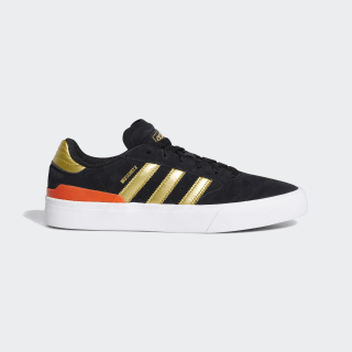 Tênis Busenitz Vulc II Core Black / Gold Metallic / Solar Red EF8470