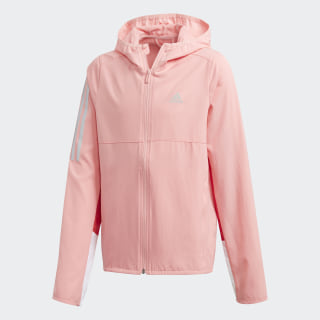 Own the Run Windjack Glory Pink / Glory Red / Reflective Silver FM5841