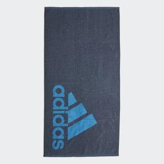 adidas Towel Small Legacy Blue / Shock Cyan FJ4775