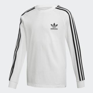 3-Streifen Longsleeve White / Black DW9298