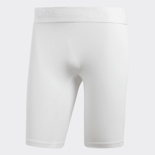 Calções Justos Alphaskin Sport White CD7184