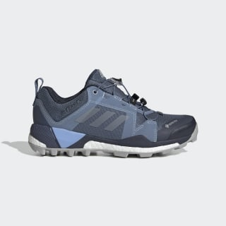 Terrex Skychaser GTX Shoes Tech Ink / Grey Two / Glow Blue G28459