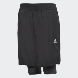 Shorts 2-em-1 Futebol BLACK/CARBON S18 CF6977