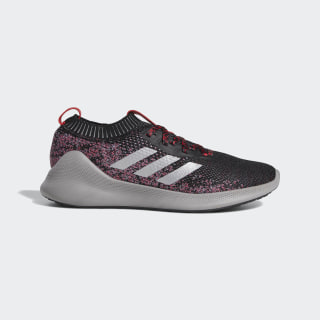 Purebounce+ Shoes Core Black / Silver Metallic / Scarlet F36925