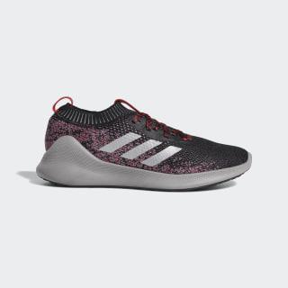 Purebounce+ Shoes Core Black / Silver Metallic / Scarlet F36925
