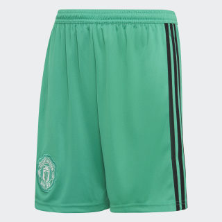 Manchester United Home Goalkeeper Shorts Blaze Green / Black / White CG0073