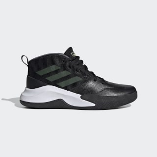 Scarpe Own the Game Wide Core Black / Hi-Res Yellow / Onix EF0308