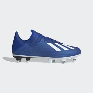 Botas de Futebol X 19.3 – Piso mole Team Royal Blue / Cloud White / Core Black EG7165