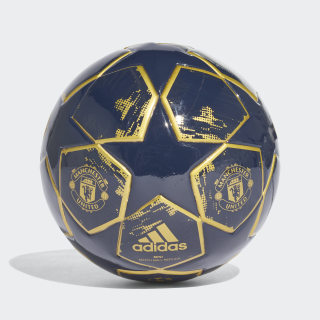 Minibola Finale 18 Manchester United COLLEGIATE NAVY/MATTE GOLD/NIGHT NAVY CW4142