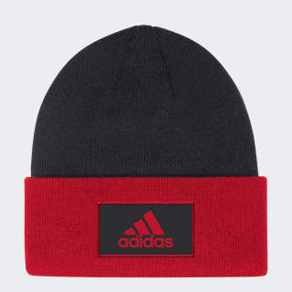 CUFFED BEANIE Multi / Black / Red FI1404