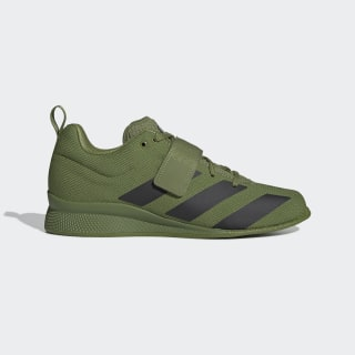 Adipower Weightlifting 2 Shoes Tech Olive / Core Black / Tech Olive F99827
