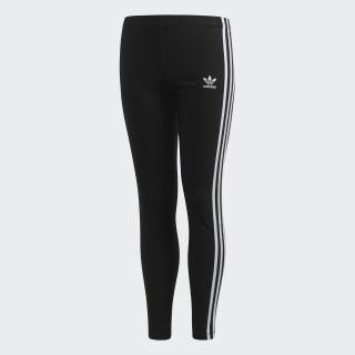 3-Stripes Leggings Black / White CD8411