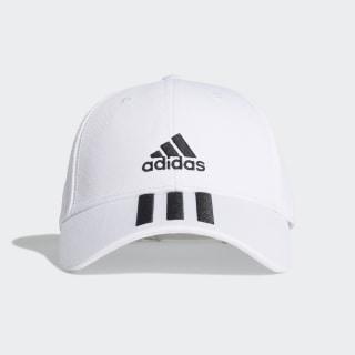 Baseball 3-Stripes Twill Cap White / Black / Black FQ5411
