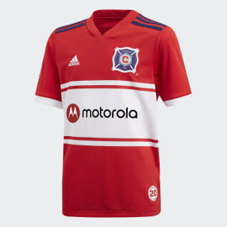 Chicago Fire Home Jersey Scarlet / Blue / White CD3635