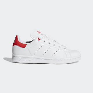 Stan Smith Shoes Cloud White / Cloud White / Active Red G27631