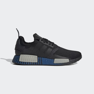 NMD_R1 Shoes Core Black / Metal Grey / Lush Blue FV3652