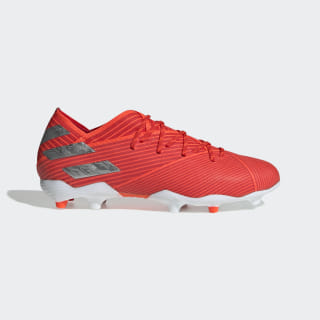 Nemeziz 19.1 Firm Ground Boots Active Red / Silver Met. / Solar Red F99955