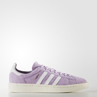 Chaussure Campus Purple Glow/Footwear White/Chalk White BY9848