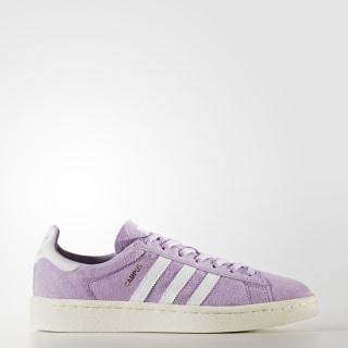 Zapatilla Campus Purple Glow / Footwear White / Chalk White BY9848