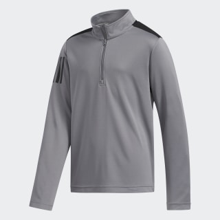 3-Stripes Half-Zip Pullover Grey Three FI8705