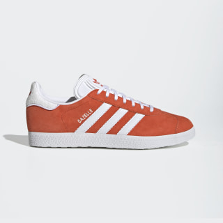 Gazelle Shoes Active Orange / Cloud White / Cloud White EE5498