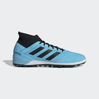 Zapatos de Fútbol Predator TAN 19.3 Césped Artificial Bright Cyan / Core Black / Solar Yellow F35626