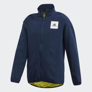Aeroready Track Jacket Collegiate Navy / Shock Yellow / White FM1702
