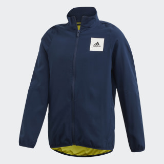 Casaco AEROREADY Collegiate Navy / Shock Yellow / White FM1702