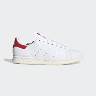 Chaussure Stan Smith Cloud White / Cloud White / Scarlet EH1736