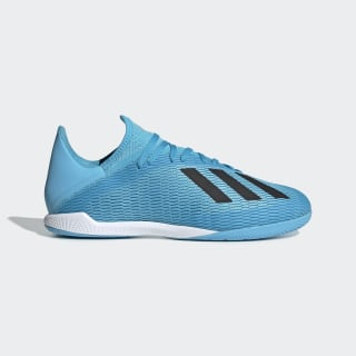 Chaussure X 19.3 Indoor Bright Cyan / Core Black / Shock Pink F35371