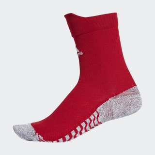 Alphaskin Traxion Ultralight Crew Socken Power Red / White CV7678