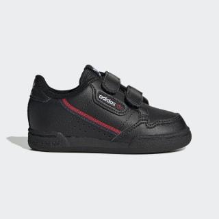 Continental 80 Shoes Core Black / Core Black / Scarlet EH3231