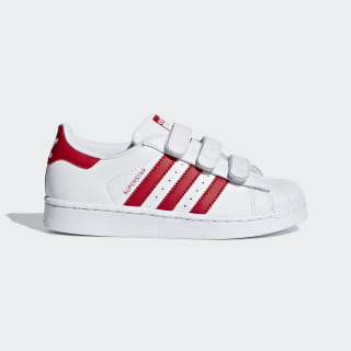 Superstar Shoes Cloud White / Scarlet / Scarlet CG6622