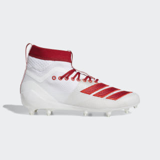 Adizero 8.0 SK Cleats Cloud White / Power Red / Active Red D97031