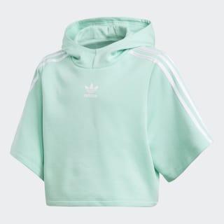 Camiseta Capuz Cropped GRPHC EASY GREEN S17/WHITE CE1069